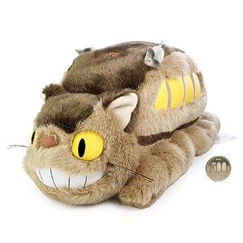 Estudio Ghibli Mi vecino Totoro Gato Bus M peluche 41cm de longitud