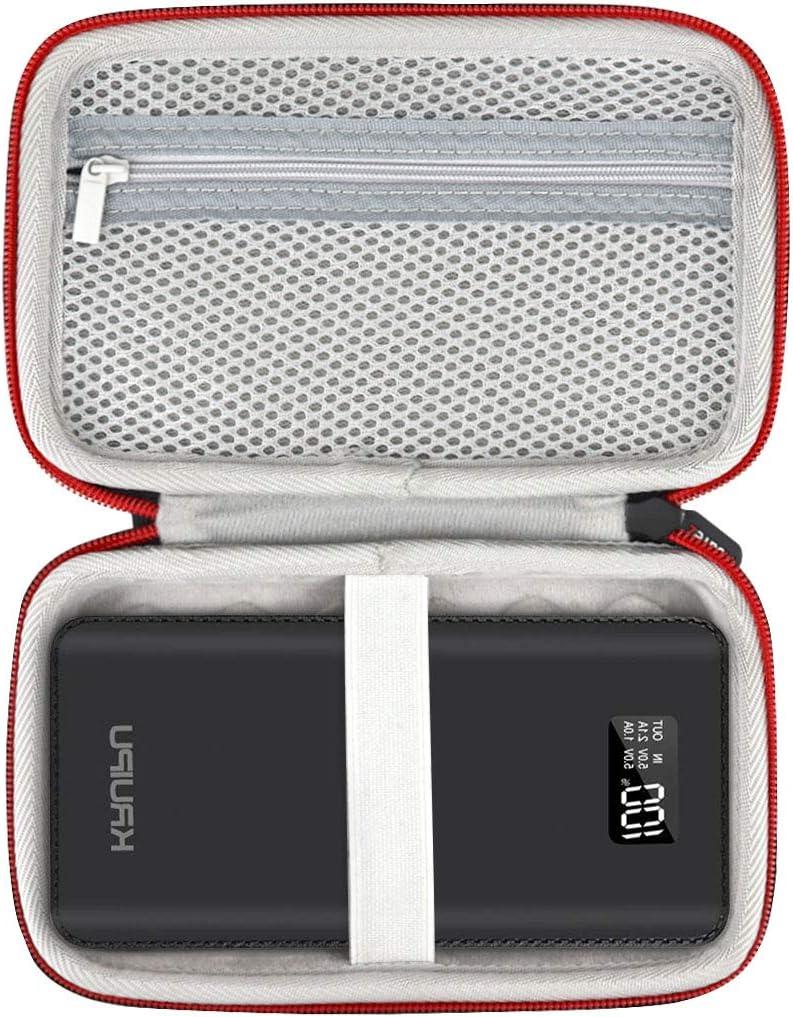 Todamay 25000mAh AsafeZ Hard Carrying Case Compatible with Gnceei 25000mAh Ruipu 24000 mAh Portable Charger Power Bank