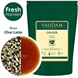 VAHDAM, Ginger Masala Chai Tea (100 Cups) | 100% NATURAL SPICES | Authentic Indian Ginger Tea | Spiced Chai Tea Loose Leaf | Brew Hot Tea, Iced Tea or Chai Latte | 100gm (Set Of 2)