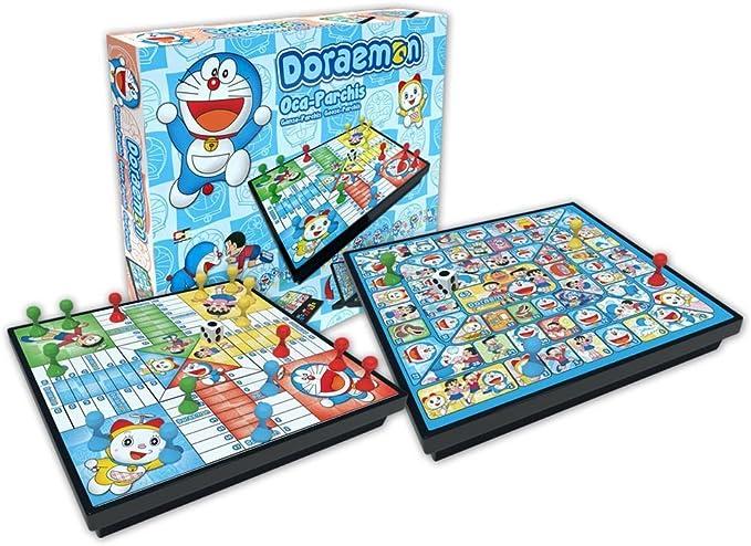 Doraemon - Parchís oca, Juego de Mesa (GF Toys 66134): Amazon.es: Juguetes y juegos