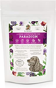 Dr. Harvey's Paradigm Green Superfood Dog Food, Human Grade Dehydrated Grain Free Base Mix for Dogs, Diabetic Low Carb Ketogenic Diet