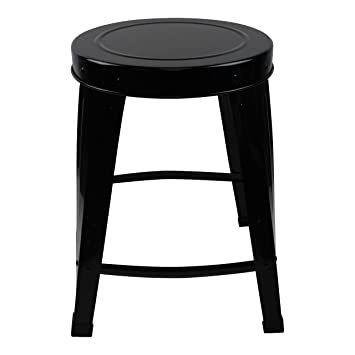 Housevitamin Happy Home Furniture Metal Stool Black H 48 Cm Adorable Happy Home Furniture