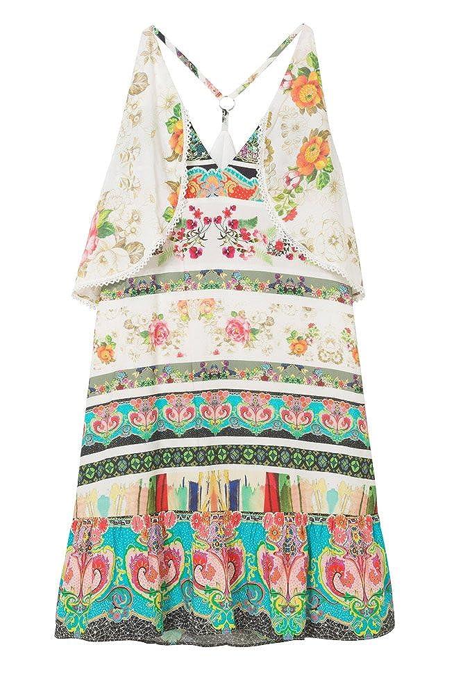 Courte Desigual Kilian Robe Femme Vest 18swvw92 srQdthCx