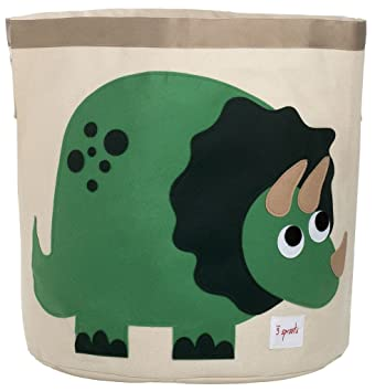 Good 3 Sprouts Storage Bin, Dinosaur Awesome Design
