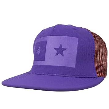 Fourstar Skate sombrero Imprint morado malla gorra