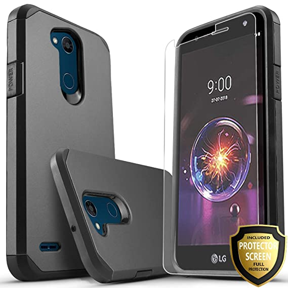 best service 90ef7 b4fd3 LG Fiesta 2 Phone Case, LG X Power 2 Case, LG Fiesta LTE Case, LG X Charge  Case, Starshop [Shock Absorption] Impact Advanced Protective Phone Cover ...