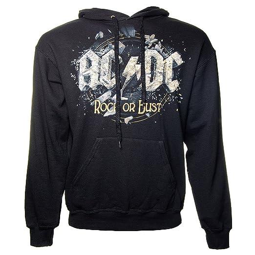 AC/DC - Sudadera con capucha - Rock Or Bust: Amazon.es: Ropa y accesorios