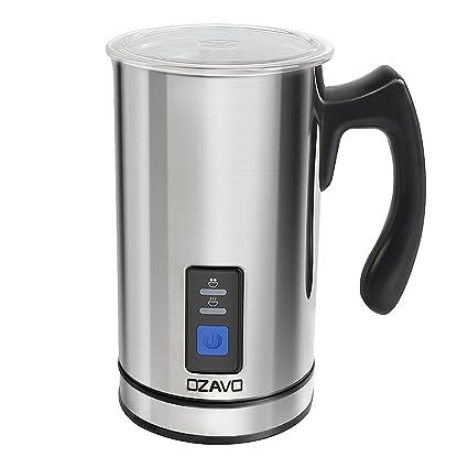 OZAVO Espumador de Leche Automático Batidor de leche Eléctrico 500W Vaporizador y Calentador Leche 150ML/