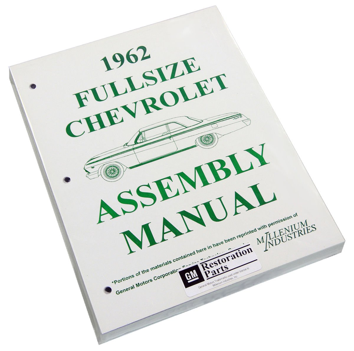 Inline Tube (I-2-15) Factory Assembly Manual for 1962 Chevrolet Full Size Cars (Bel Air and Impala)