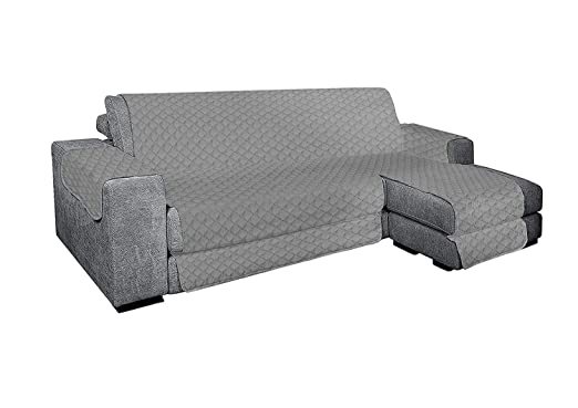 sim-ple Top Shop - Funda para sofá con Chaise Longue de 4 ...
