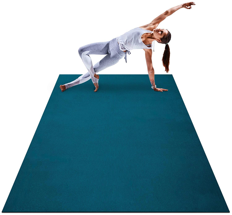Grist CC 8mm Premium Gran Mat Yoga-Ultra cómodo, no tóxico ...
