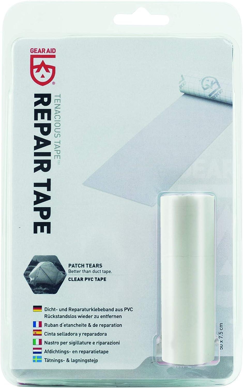 "Gear Aid tenace Ruban Flex Patches 3/""x5/"" permanent Gear Repair Tape 3-pack"