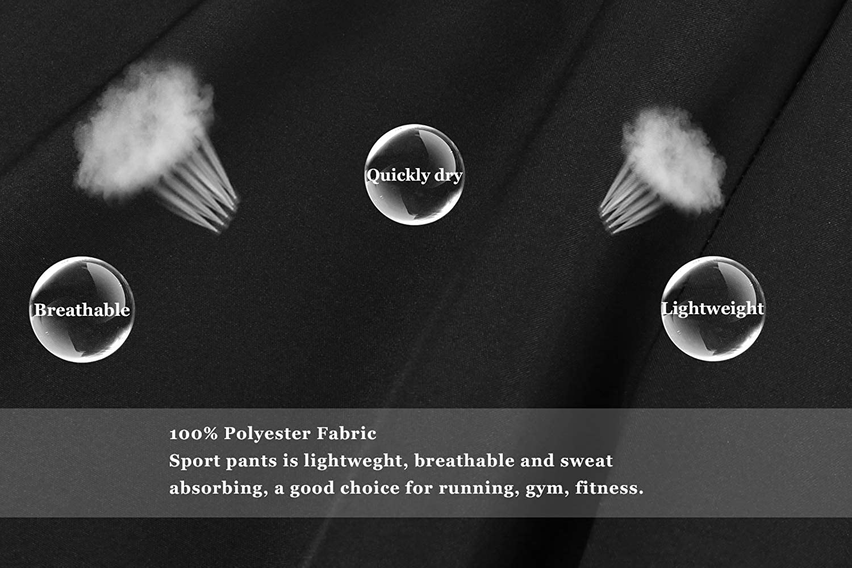Irevial Pantaloni Sportivi da Donna,Leggeri Pantaloni della Tuta Larghi con Elastici Vita Alta Casual Asciugatura-Rapida Yoga Pants con Tasche e Coulisse Pigiama Estivi