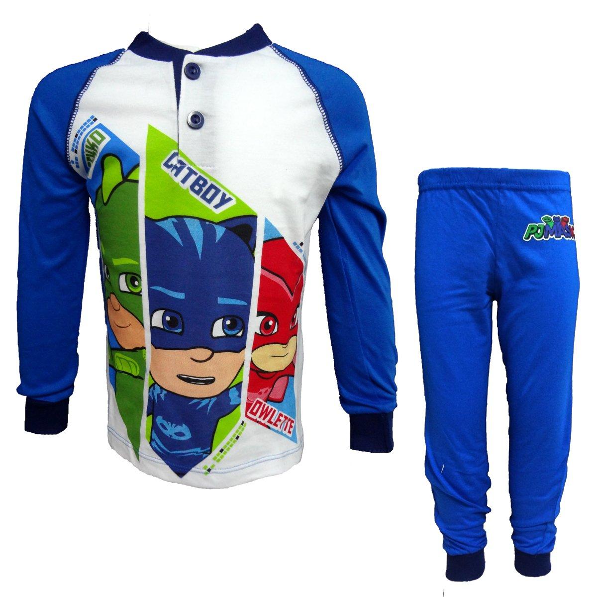 pigiama bimbo lungo in cotone jersey PJMASKS art. PL16037 (royal, 4 anni)