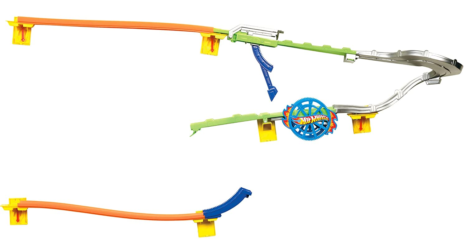 Hot wheels wall tracks spinwheel slammer track set toys for Hot wheels wall tracks template