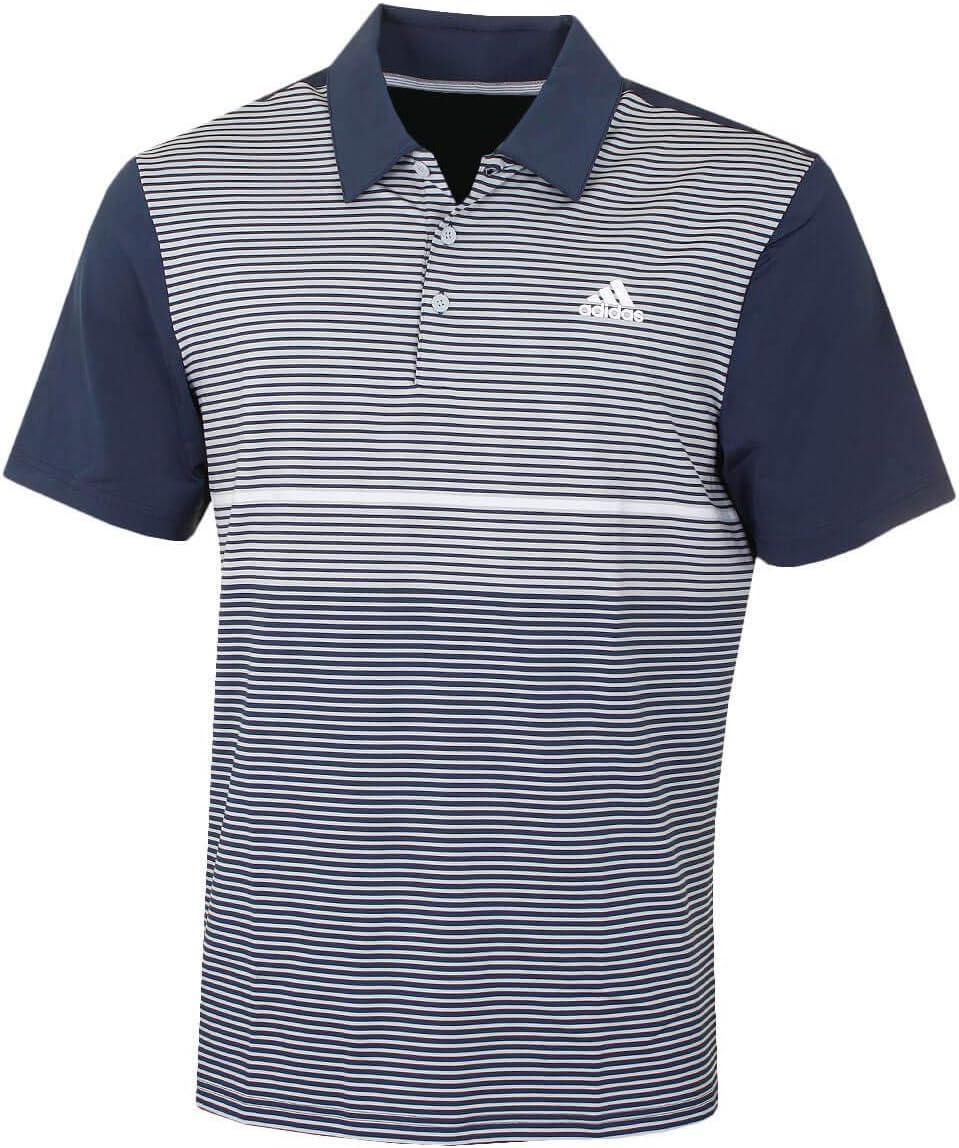 Collegiate Marine Grau Two XL adidas Herren Poloshirt Ultimate Farbe Block
