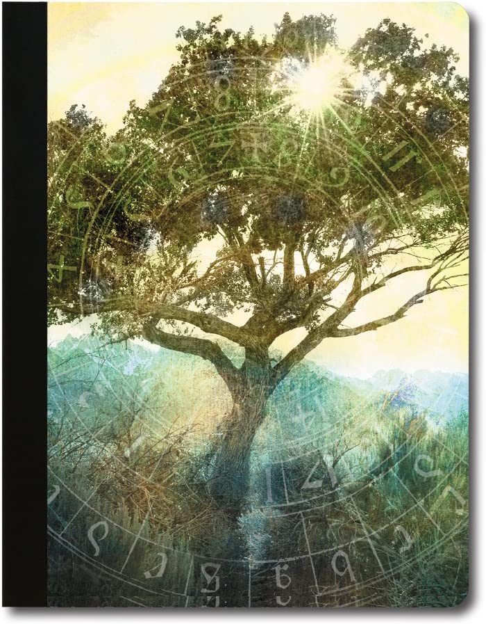 9.75 x 7.25 Inches Tree-Free Greetings Love Elephant Soft Cover 140 Page Tree-Free Composition Book CJ47369