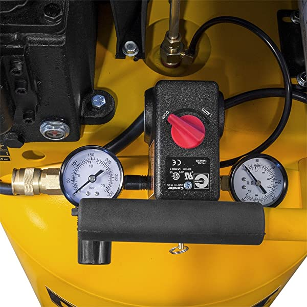 The feature allows you to view the output & tank gauges and quick-set regulator.