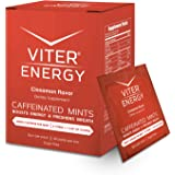 Viter Energy Caffeinated Mints - 40mg Caffeine, B Vitamins, Sugar Free Vegan Breath Mint. Powerful Energizing Boost. 2…