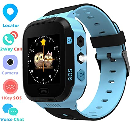 Amazon.com: Reloj de pulsera con GPS para niños y niñas ...