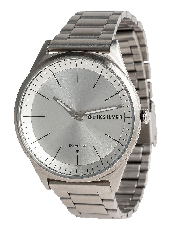 2d8eabd1f23d Quiksilver Bienville Metal - Reloj Analógico para Hombre EQYWA03013   Quiksilver  Amazon.es  Ropa y accesorios