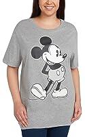 Disney Women's Plus Size T-Shirt Mickey Mouse Print