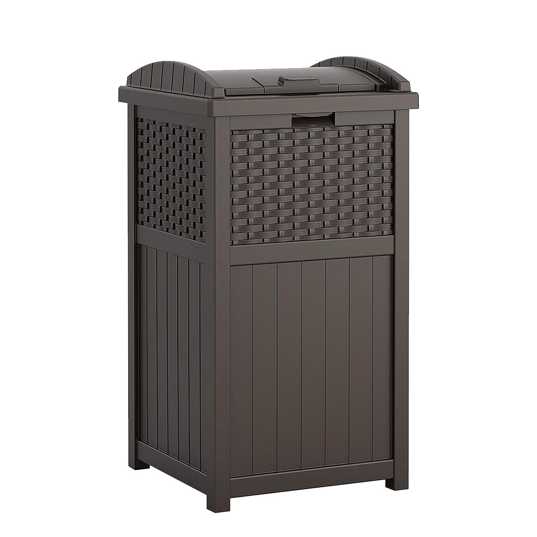 Suncast Outdoor Trash Can