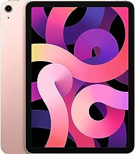New Apple iPadAir (10.9-inch, Wi-Fi, 256GB) - Rose Gold (Latest Model, 4th Generation)
