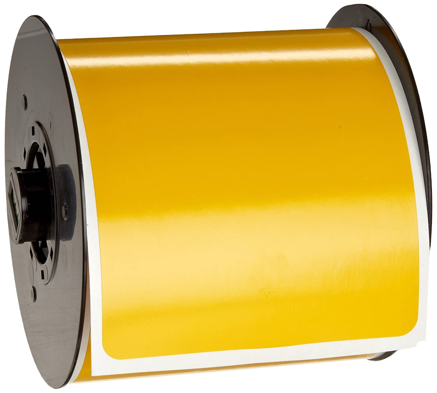 B-595 Indoor//Outdoor Vinyl White BBP31 Pre-Printed Pre-Cut Labels Tape with Sign Headers 175 per Roll Brady B30-25-595-BLNKWT 4 Height x 6 Width