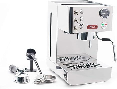 Lelit PL41LEM Anna, Máquina de Espresso Semiprofesional ...