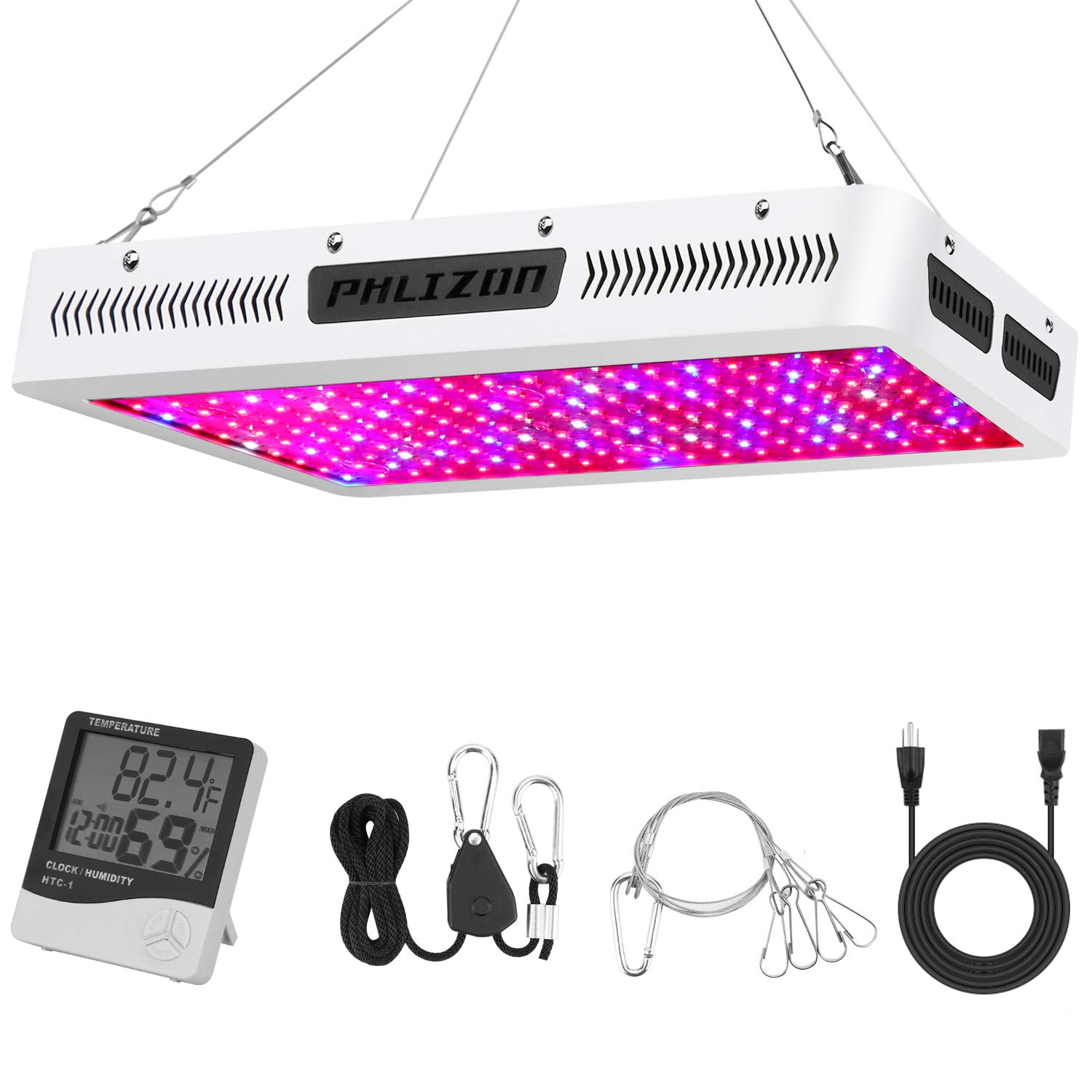 Amazon Phlizon Newest 2000W High Power Series Plant LED Grow