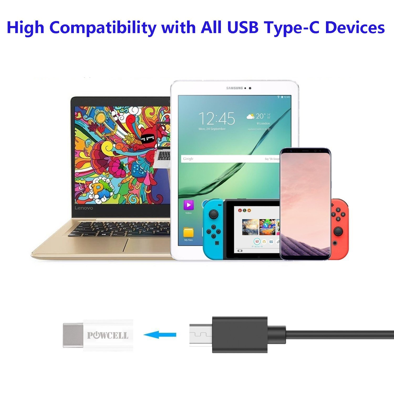 USB C to Micro USB Convert Connector for Sony XPERIA 10 Plus XZ3 XZ2 XZ Perineum COMPACT XA1 XA2 Samsung Galaxy S10 S10+ S10e A9 S8 Note 9 8 Plus Pixel 3 2 XL Nexus 5X 6P LG G7+ ThinQ G5 G6 V40 V30+ V20 5 Pack Mixed Color USB Type C Adapter