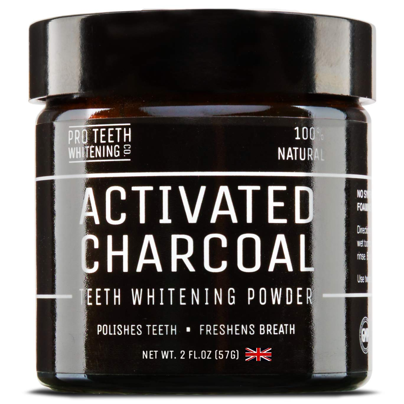 Activated Charcoal Teeth Whitening Powder | Pure Beauty Award Winning Product By Pro Teeth Whitening Co