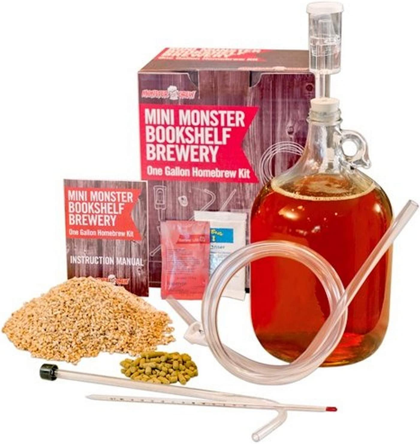 Monster Brew Home Brewing Supp Mini IPA Bookshelf Brewery