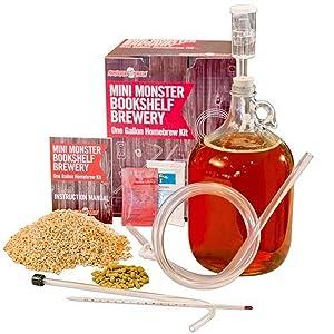 Monster Brew Home Brewing Supp Mini IPA Bookshelf Brewery