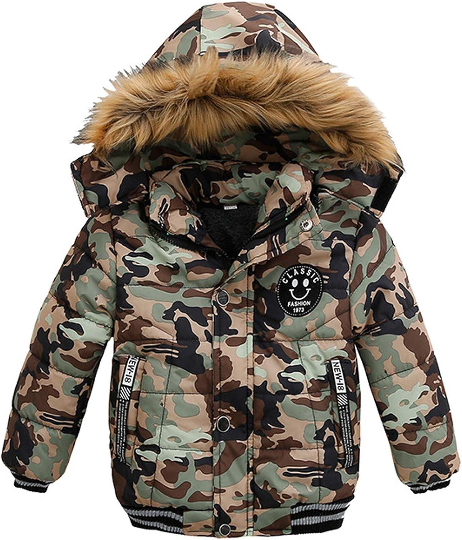 LzCxZDKN Children Baby Boys Clothes Thick Coat Warm Jacket Boys Jacket Hooded