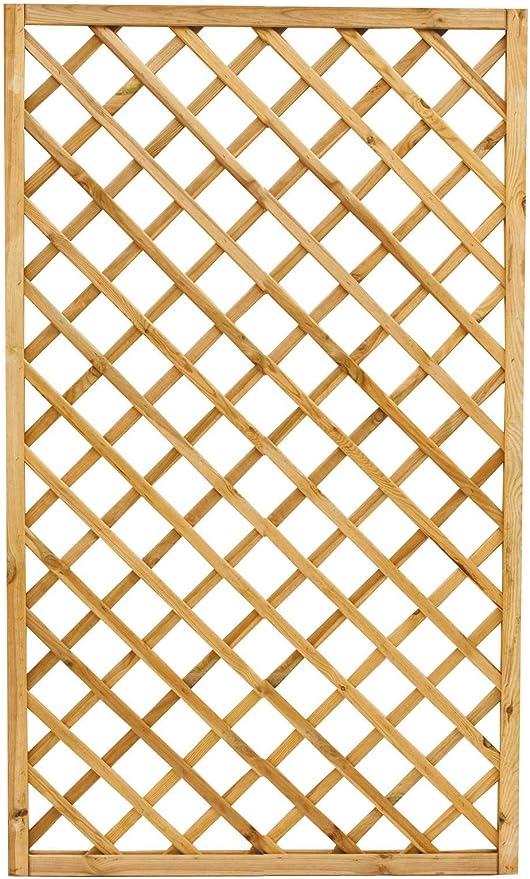 Justmoment Bamberg Paneles rectangulares 4pz cm 120 x 180 H de Madera para Muebles balcón jardín Exterior: Amazon.es: Jardín