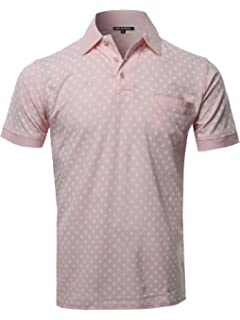 vermers Mens Fashion Polo Shirts Summer Casual Buttons Striped Short Sleeve T Shirt