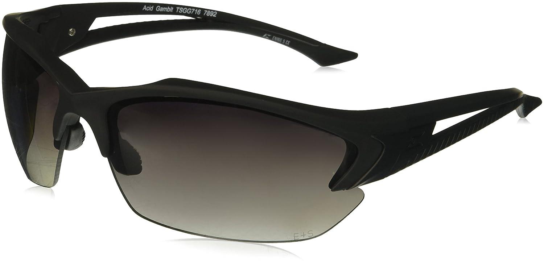 02f3c1134a Amazon.com  Edge Tactical Eyewear TSGG716 Acid Gambit Matte Black with Polarized  Gradient Smoke Lens  Home Improvement