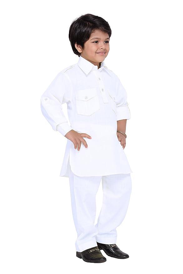 Amazon.com: AJ dezines Kids indio étnico pathani Suit Set ...