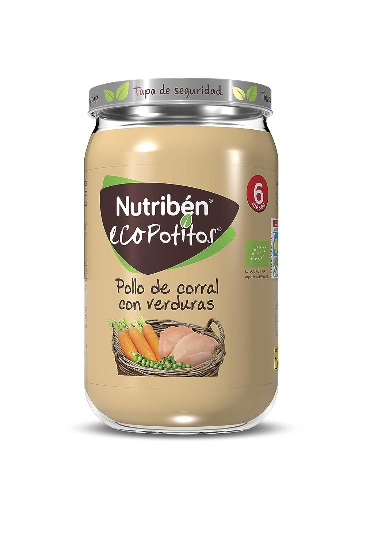 Nutribén® EcoPotitos® De Pollo De Corral Con Verduras Desde Los 6 ...