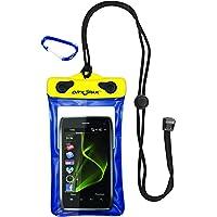 Kwik Tek DRY PAK DP-46 Cell Phone, GPS, MP3 Waterproof Case, Blue