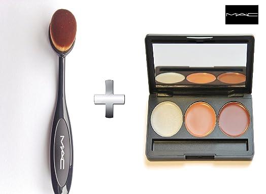 mac liquid foundation brush. mac oval blending brush toothbrush curve liquid foundation brush-pro cosmetic makeup face powder mac