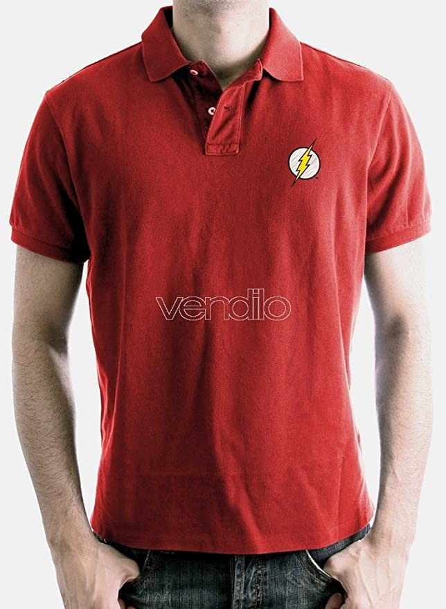 Polo Homme Flash - Logo - Legend Icon - XL, Rouge: Amazon.es ...
