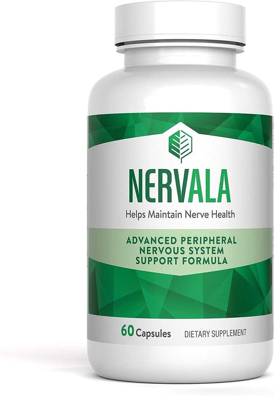 Nerve Pain Relief Neuropathy Supplement - Nervala - 60 Benfotiamine & Alpha Lipoic Acid Capsules