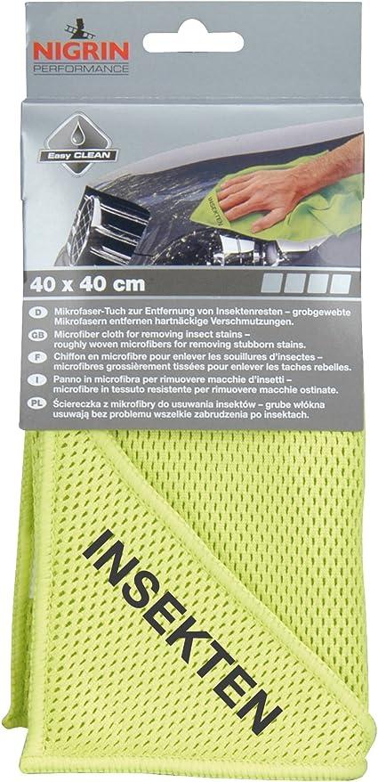 Nigrin 71122 Microfasertuch Insekten 40 X 40 Cm Auto