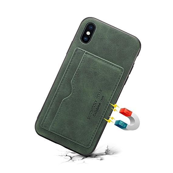 iphone 8 wallet case for women green