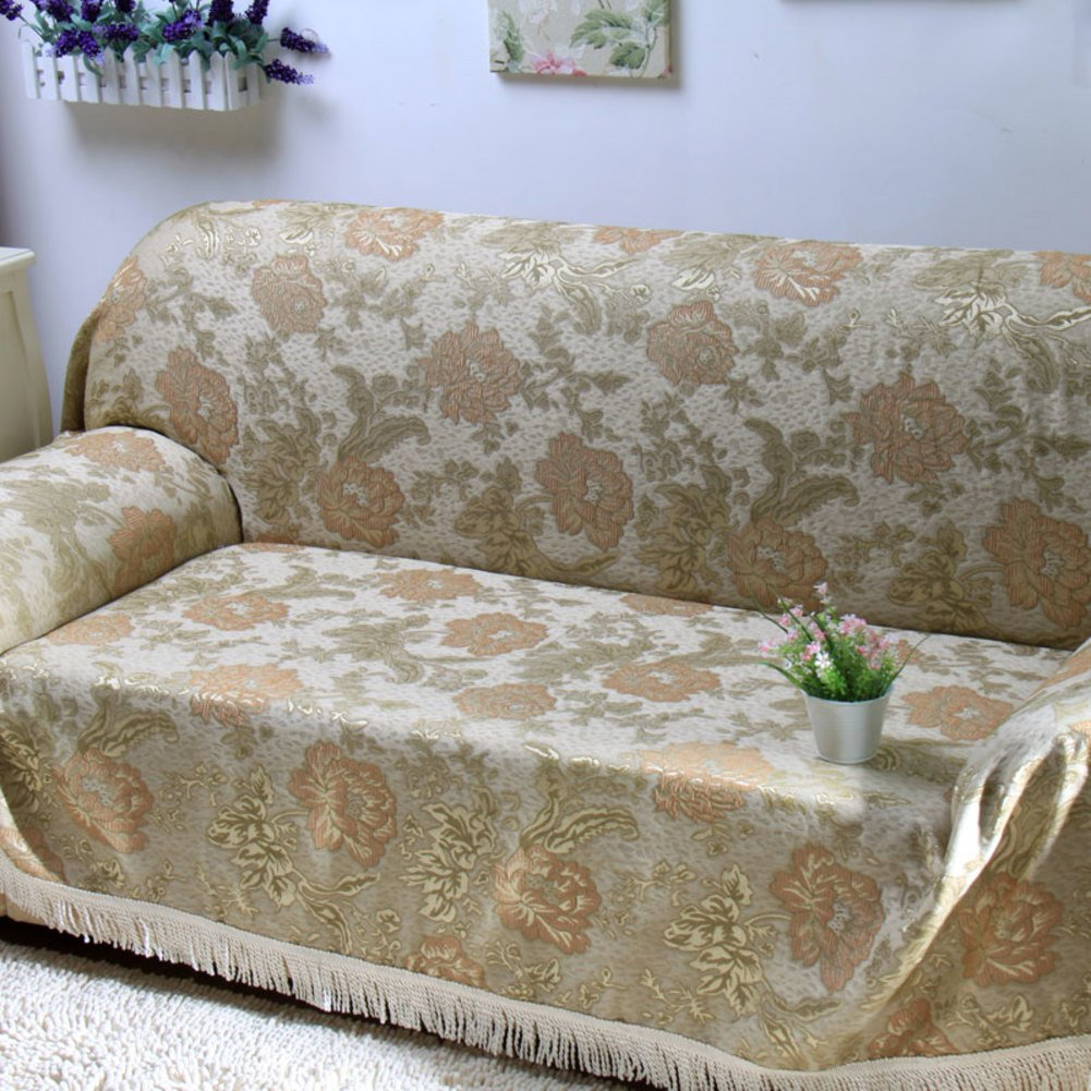 European style sofa towel full cover sofa cover Chaise longue cover slip sofa a full A 180x360cm(71x142inch) by Sofa towel
