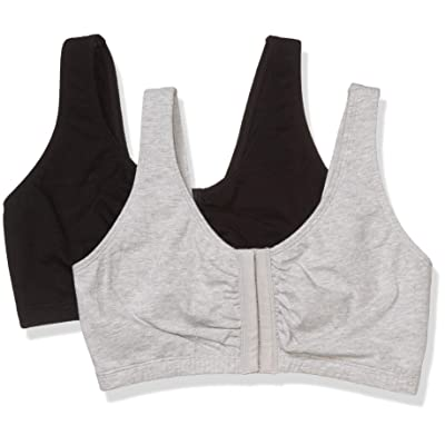 Fruit of the Loom Women's Front Close Builtup Sports Bra at Women's Clothing store