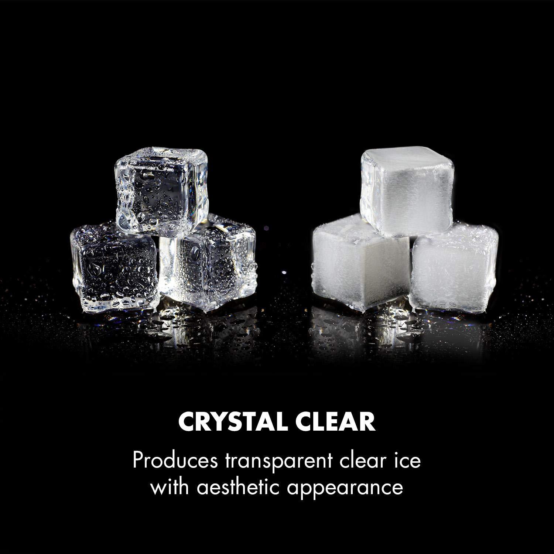 Klarstein Clearcube machine à glaçons • produit de la glace • capacité de production : 13kg/24h
